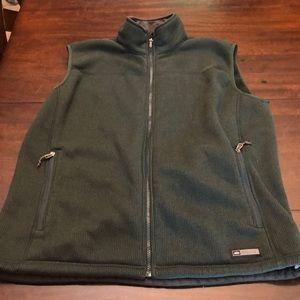 REI men's vest.  Size XL. Dark green with black